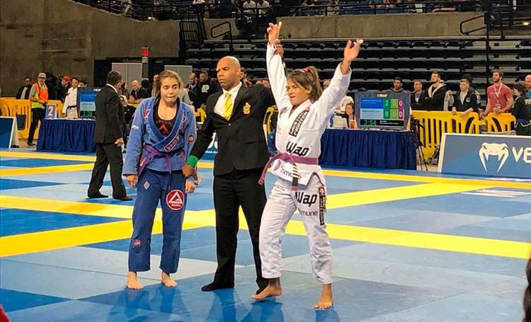 Janaina Maia - Atleta WAP Profissional jiu-Jitsu