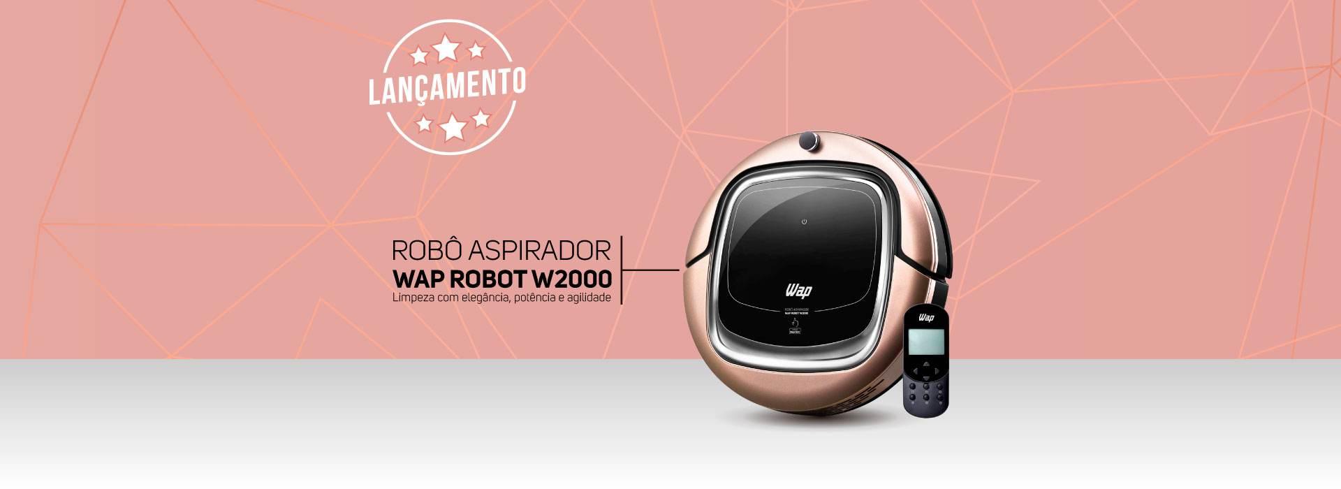 Robô Aspirador WAP W2000