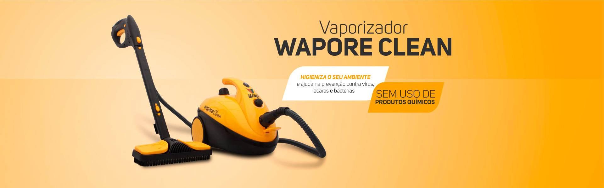 Wapore Clean WAP Vapor eliminar vírus